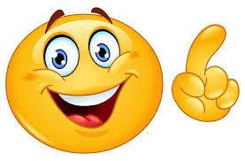 С Днем улыбки! Смайлик улыбается качая пальцем открытки фото рисунки картинки поздравления