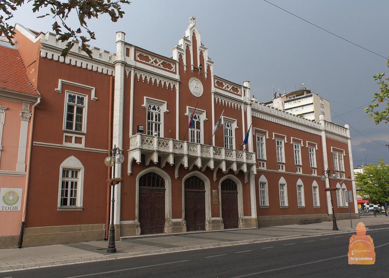 Здание мэрии города