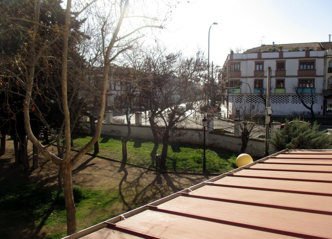 Hotel Los Cazadores, Zafra, View from room