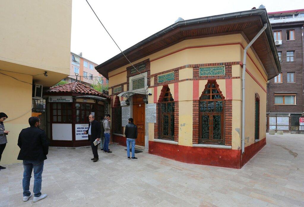 Istanbul. The Tomb Of Sheikh Mustafa Devati (Şeyh Mustafa Devati Türbesi)