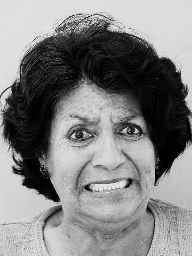 Острый момент: портреты людей, попробовавших самый острый перец в мире (27 фото)