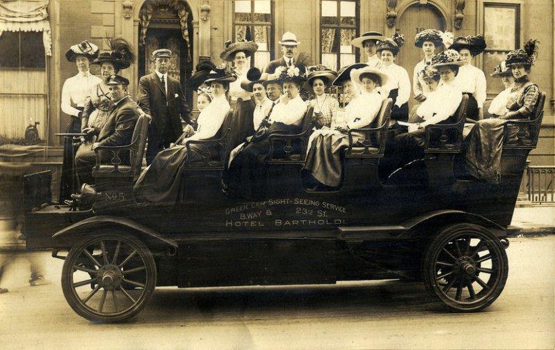 Pullman в Вашингтоне, округ Колумбия, 1912
