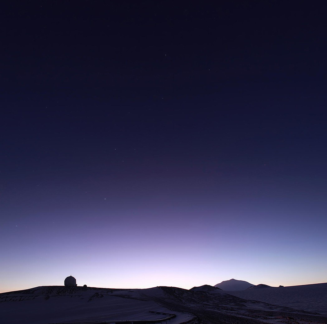 22. Антарктический рассвет!