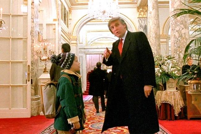 © 20th Century Fox  Еще одно камео нынешнего президента США: вфильме есть эпизод, где Кевин,