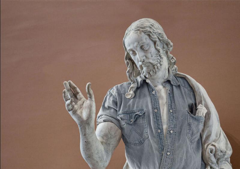 Аполлон в Ray Ban: вторая часть нашумевшей серии одетых скульптур