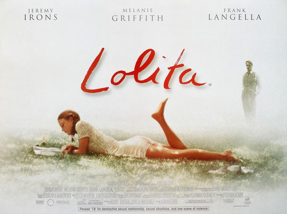 13. Вторая экранизация — «Лолита» Эдриана Лайна, вышедшая в 1997 году. Лента вышла ограниченным тира