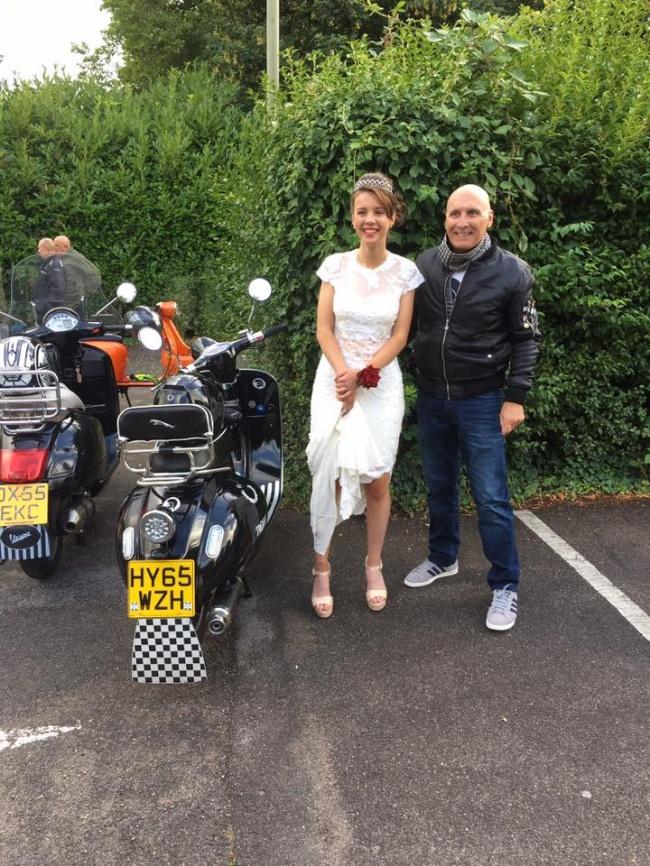 © claire.p.brittain / facebook  ВАнглии мотоциклисты совершили трогательный поступок, чтобы п