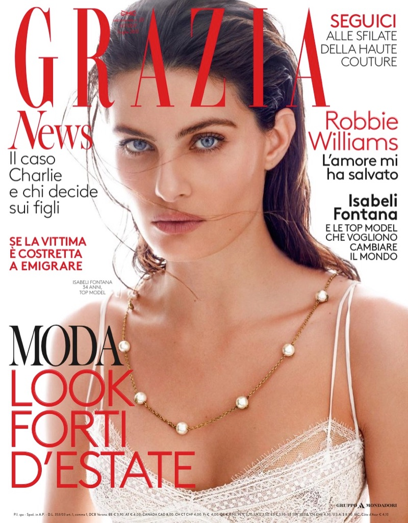 Изабели Фонтана для Grazia Italy (8 фото)