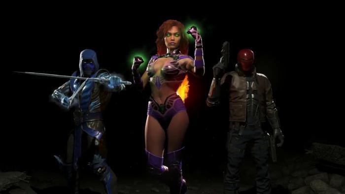 Вышел трейлер первого DLC сдополнительными персонажами для Injustice 2