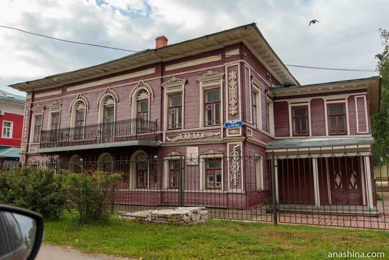 Дом Дыдина 1869 года постройки, Вологда