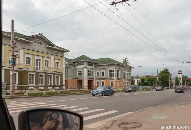 Дома по улице Чернышевского