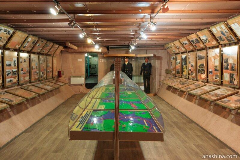 Экспозиция музея, Вытегра, Подводная лодка Б-440