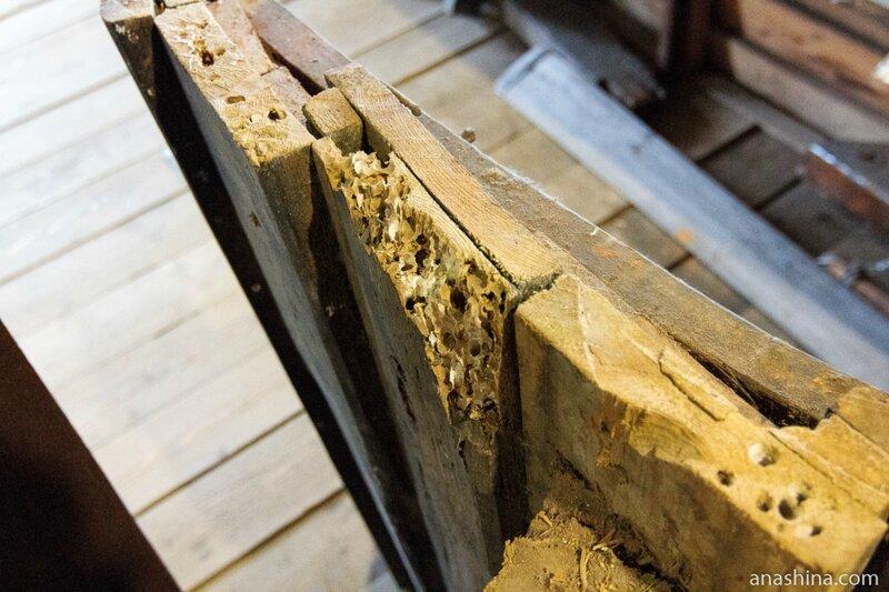 Двойная обшивка деревянного судна спасает от древоточца
