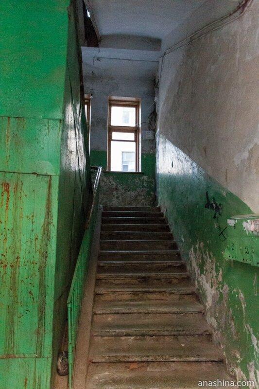 Подъезд одного из домов на Крепостной улице, Выборг