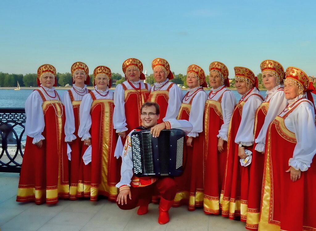 Волжский хор. На набережной Ярославля