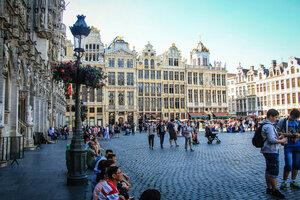 Брюссель. Площадь Гранд Пляс