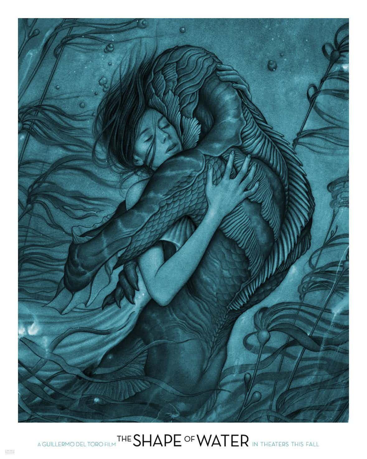 "James Jean – ""The Shape Of Water"" Poster (4 pics)"