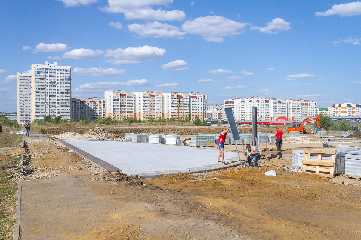 строительство бульвара в Солнечном-2 фото 4