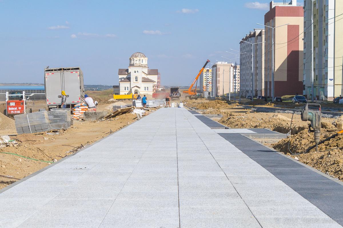 строительство бульвара в Солнечном-2 фото 6