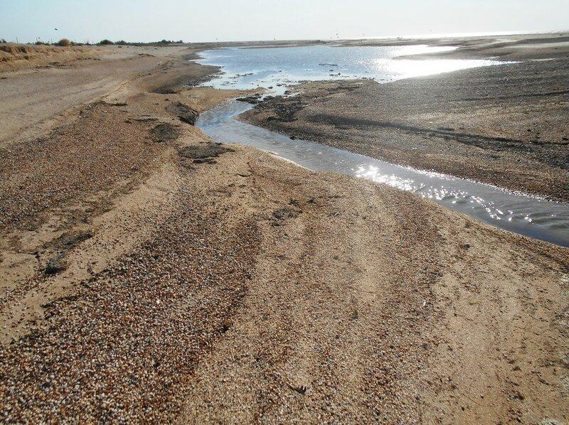 Песок и вода, у моря Азовского ... DSCN4333.JPG