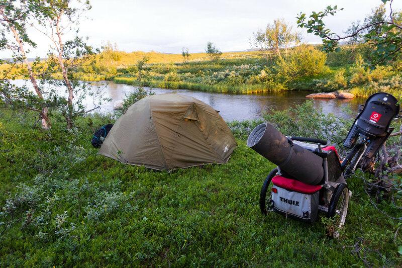 ночевка в палатке cetus 3 в норвегии