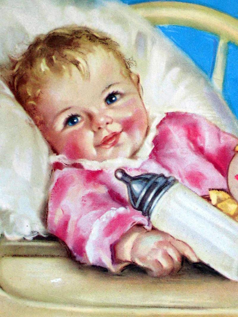 Картинка маленьких детей нарисованная