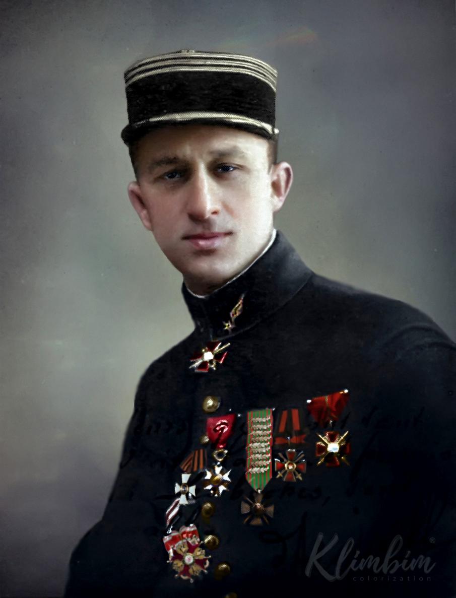 Русский летчик капитан Павел Владимирович Аргеев