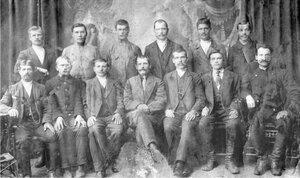Первые строители завода. 1912