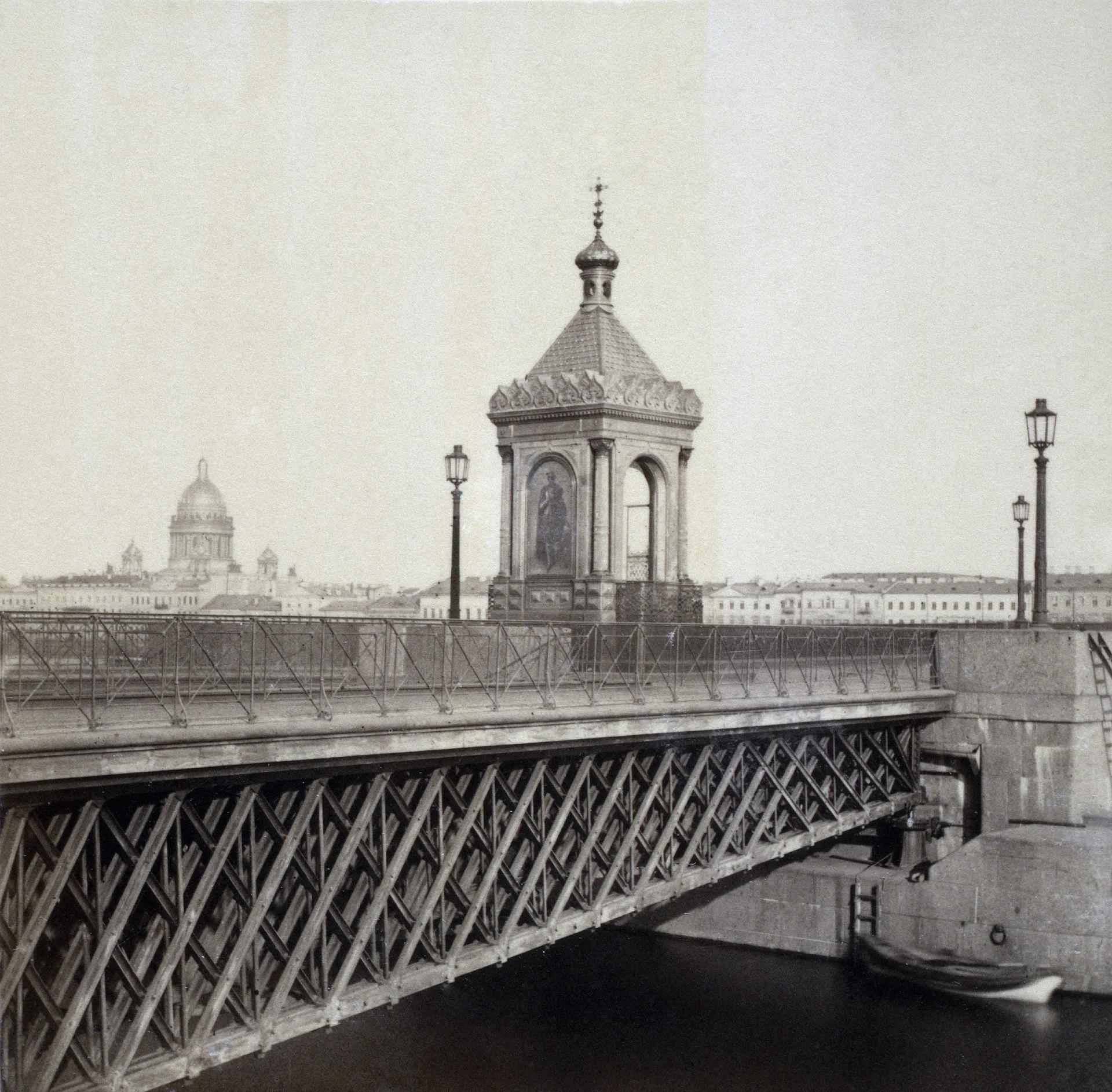 1857. Часовня на Николаевском мосту