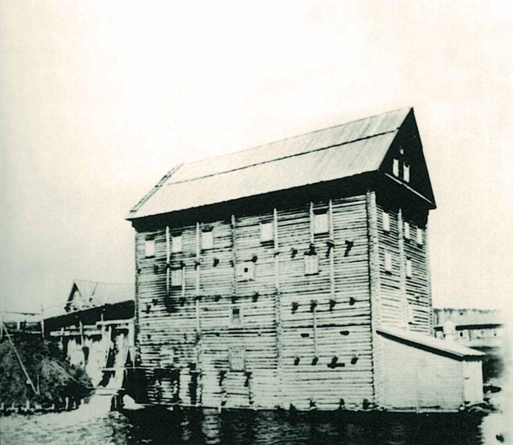 Водяная мельница на Марковом пруду
