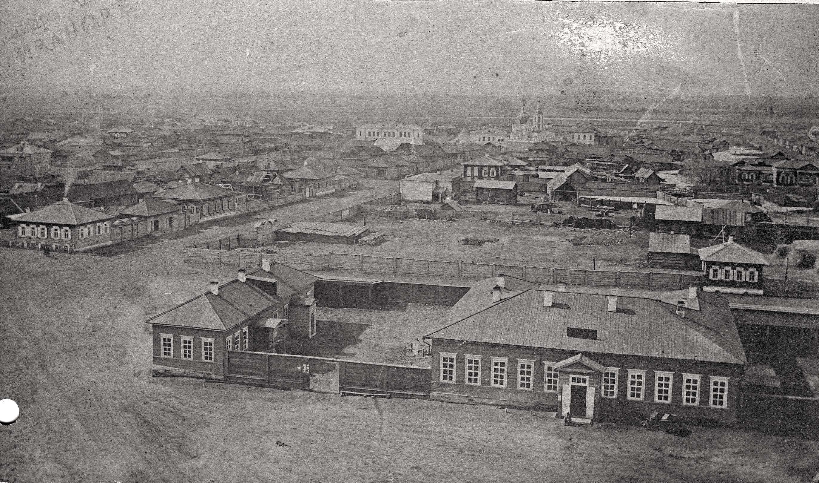Панорама северо-западной и центральной части города
