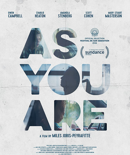 Как есть / As You Are (2016/WEB-DLRip)