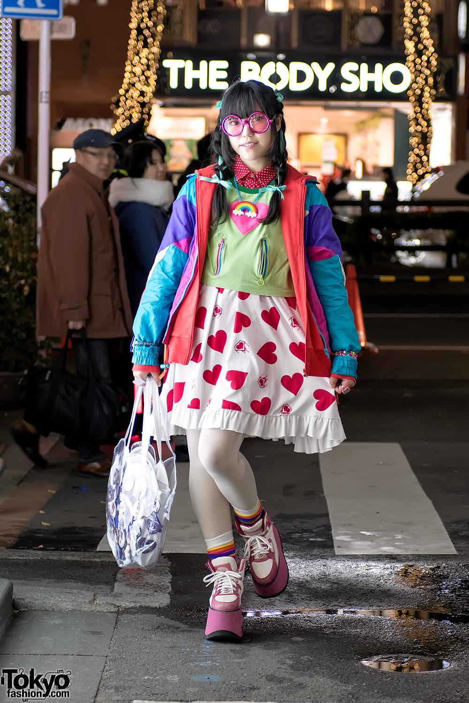 Модные персонажи на улицах Токио (19.01.17)