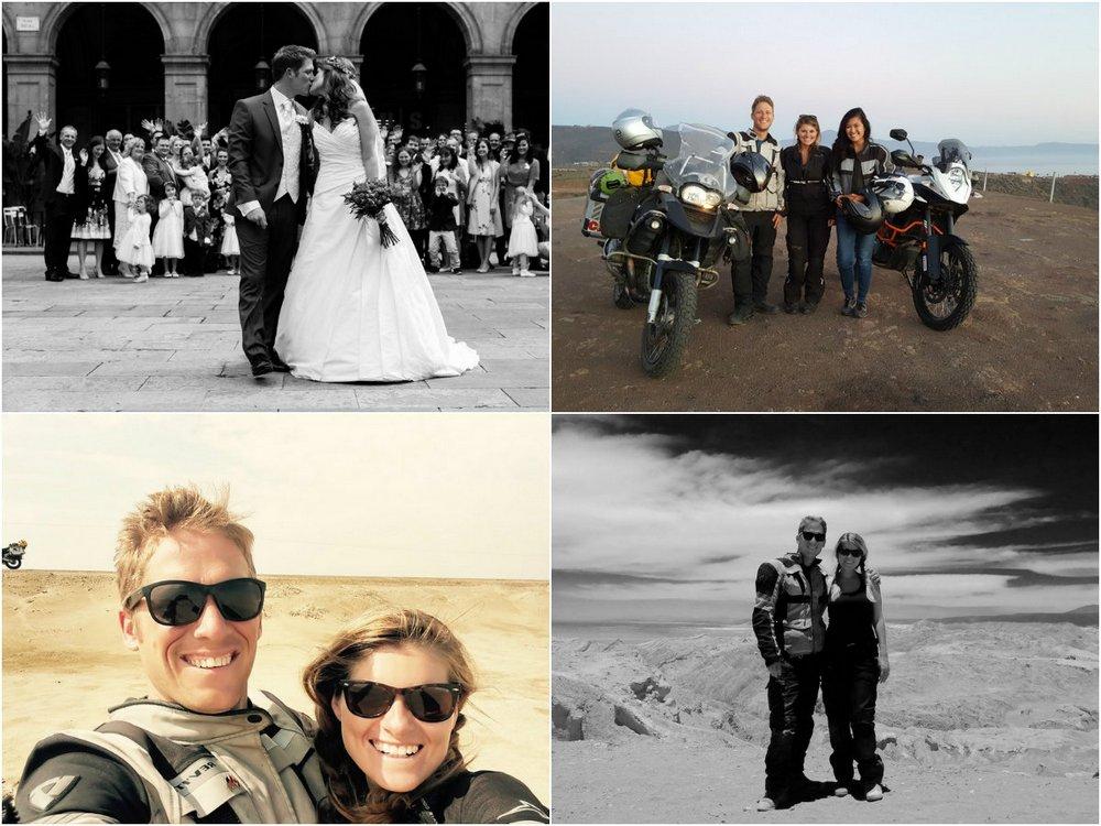 Нескончаемый медовый месяц: молодожены провели семь месяцев путешествуя на мотоцикле
