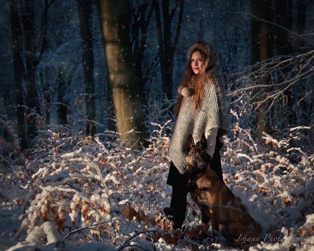 Художественные портреты Isabelle Hanneuse