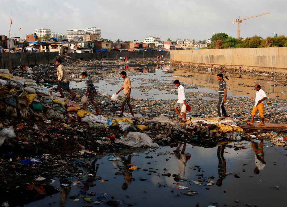 Фотографии повседневной жизни в Индии