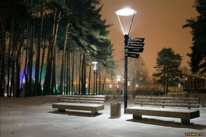 Зимние виды Воронежа, часть 2. Интересные места зимой