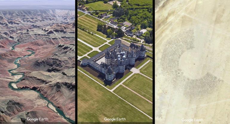 Земля снового ракурса: как работает обновленная версия  Google Earth