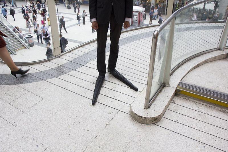 В таких туфлях точно можно выделиться из толпы.