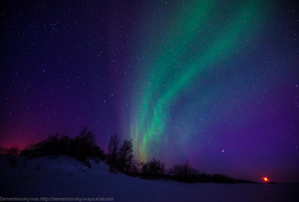 До этого были кадры с участком неба, где был рассвет. И, кстати, хочу отметить всю прелесть пре