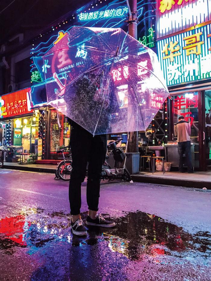 Дженнифер Бин фотографировала Шанхай.