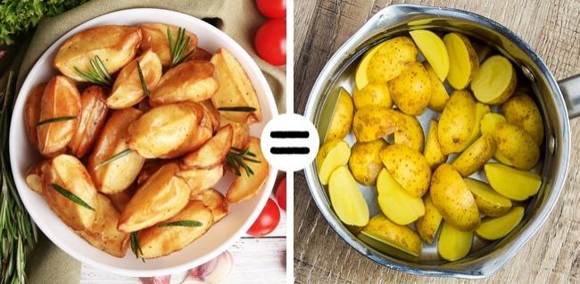 © depositphotos  © depositphotos  Согласитесь, запеченные дольки картошки схрустящей ко