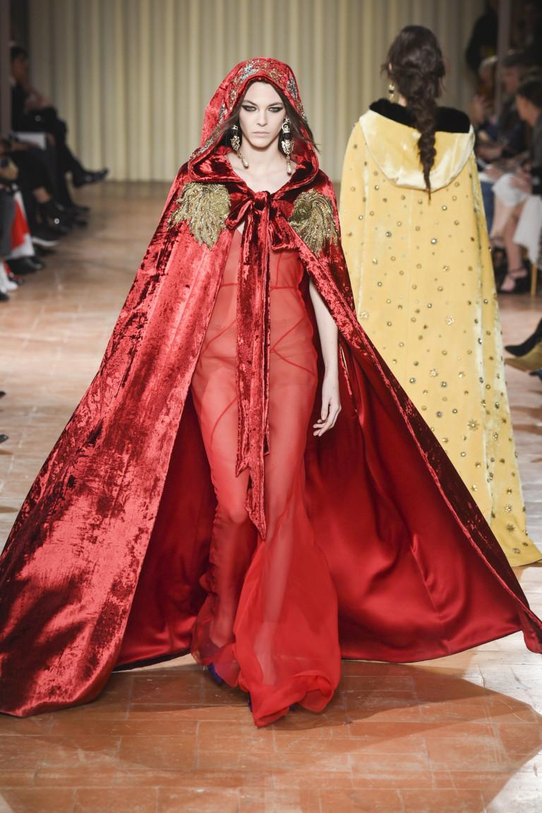 Неделя моды в Милане: Alberta Ferretti осень 2017 (25 фото)