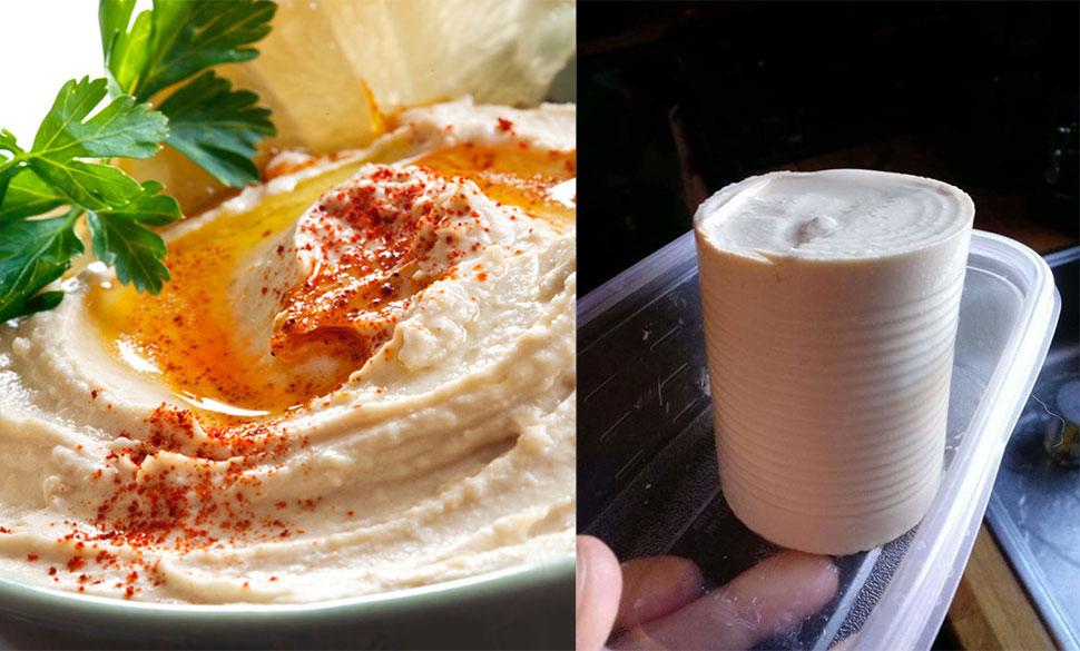 Ближневосточный хумус Это простое блюдо делается из тахини и нута и было придумано в Египте в XIII в