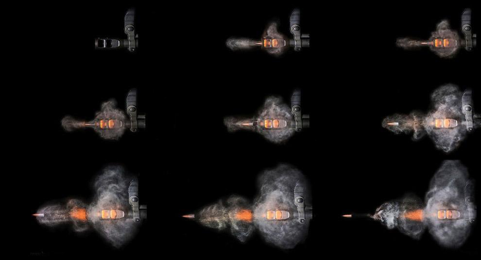 «Наши последние достижения — 3D-съемка выстрела, где можно увидеть трехмерную картину».