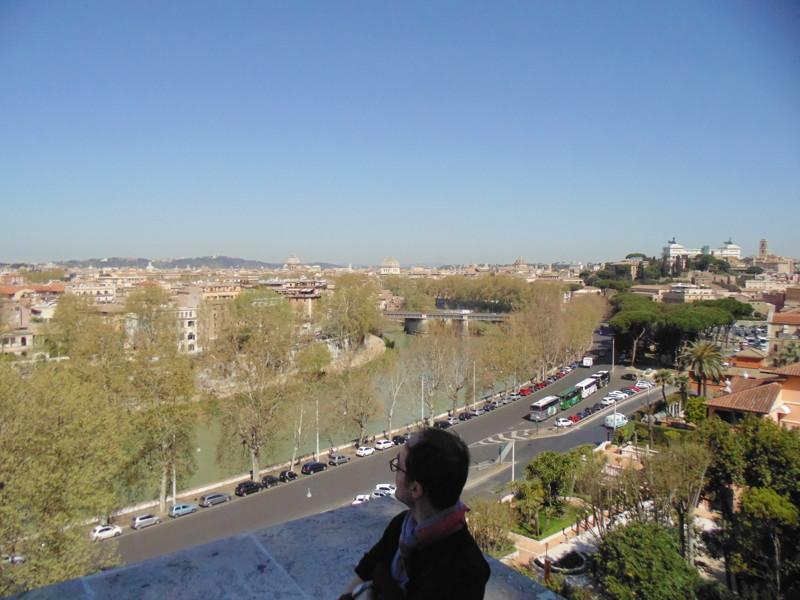 Рим со смотровой площадке. 13.
