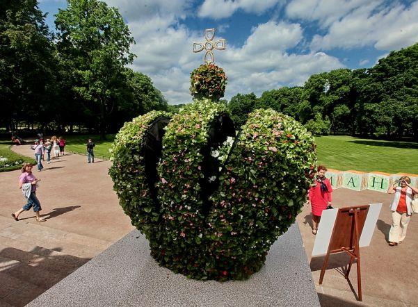 Михайловский парк расцветет по-новому врамках фестиваля «Императорские сады России»