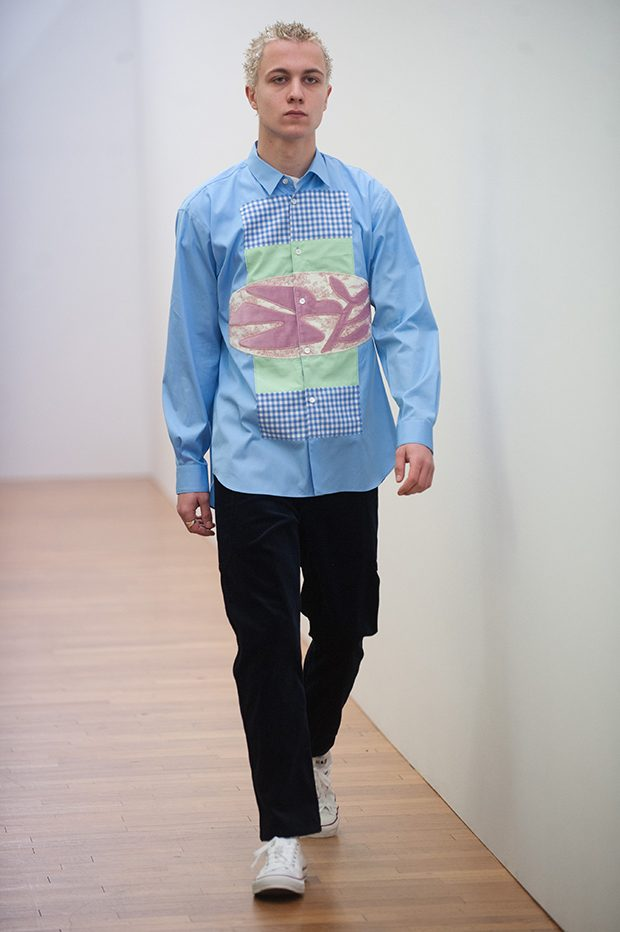 Comme Des Garcons Shirt and Shirt Boys Fall Winter 2017.18