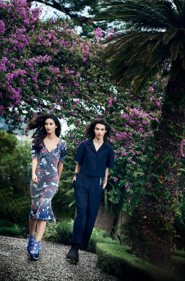 Among Friends: Salvatore Ferragamo Spring Summer 2017 Campaign by Peter Lindbergh