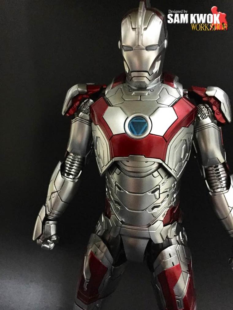 Iron Man VS. Pop Culture - The awesome customized figures by Sam Kwok